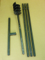 Preview: 120 mm 4 meter auger set, earth auger, well drill, hand auger