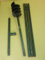 Preview: 180 mm 4 meter auger set, earth auger, well drill, hand auger