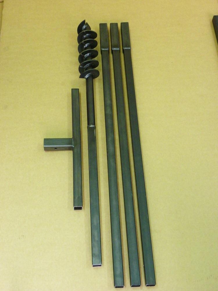 mws apel 90 mm 4 meter auger set earth auger well drill hand auger. Black Bedroom Furniture Sets. Home Design Ideas